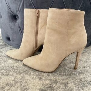 Charles David Suede Boots Size 8